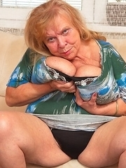 This big breasted mama gets a good fuck from her toy boy