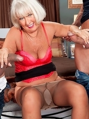 3-year-old Jeannie Lou is going to suck off two guys. They're going to stuff her mouth with their cocks. They're going to fuck her old pussy